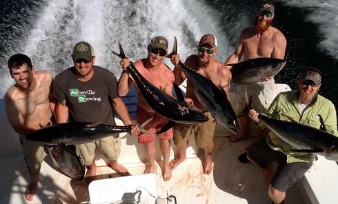 Deep Sea Fishing Outer Banks Tuna
